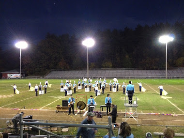 The Marching Band At Wakefield 2012