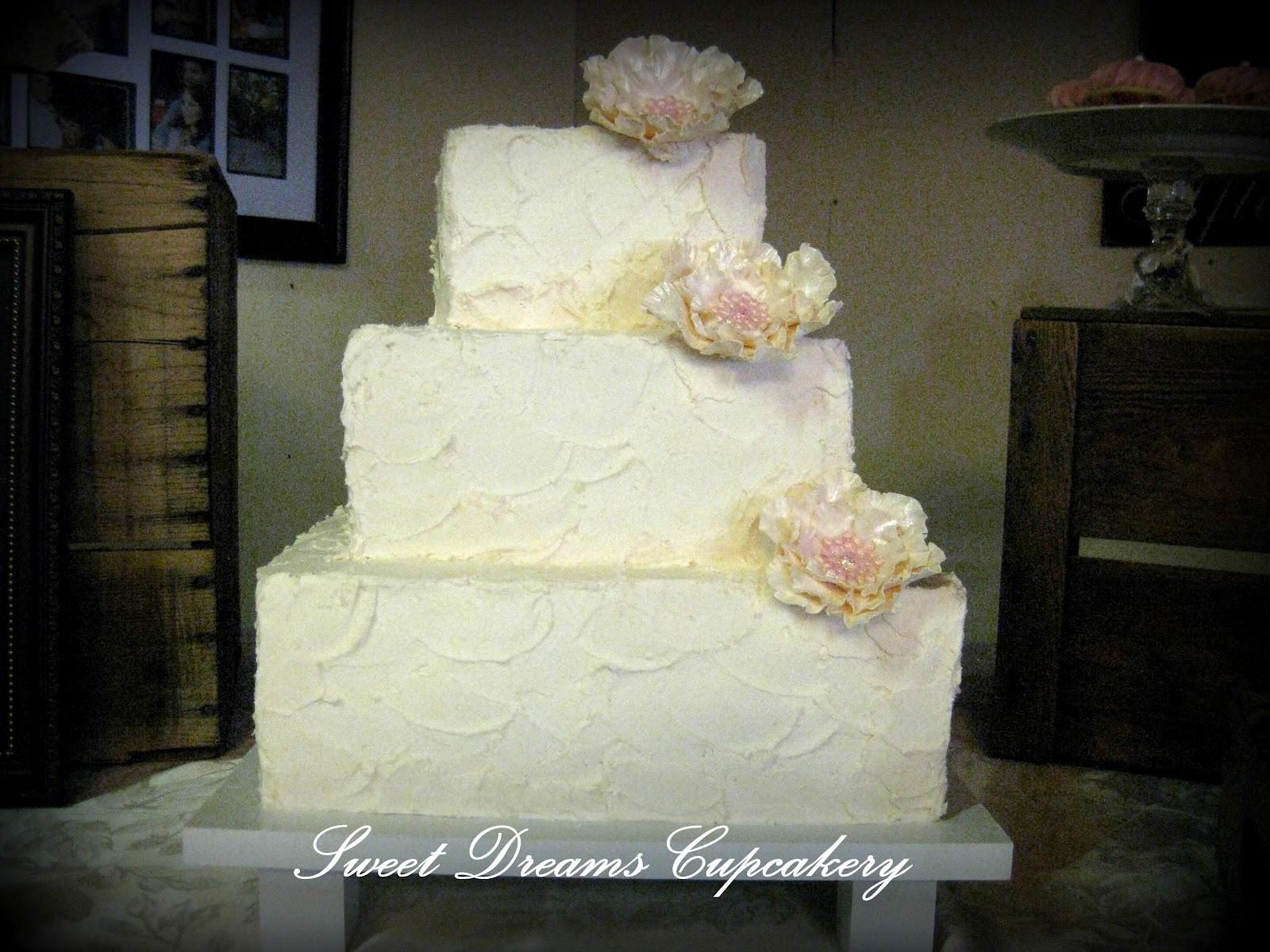 Pin Rustic Texture Buttercream Wedding Cake Cakecookie