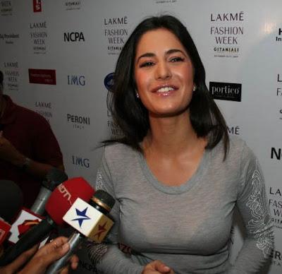 Katrina Kaif hot Images in T Shirt