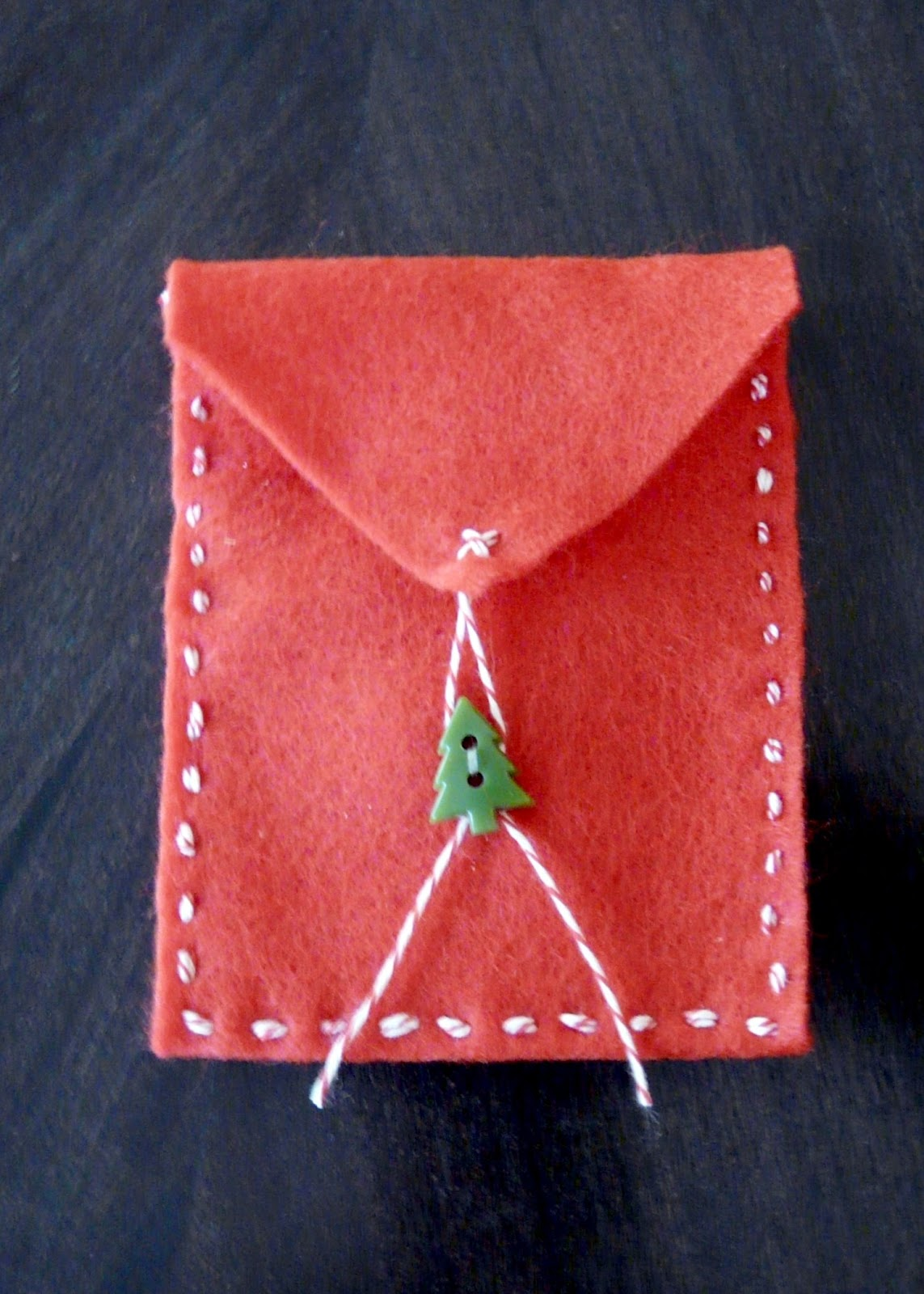 Make Felt Gift Card Holders