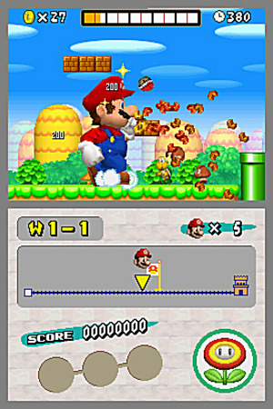 Tests new super mario bros wii et ds - Passage secret mario bros wii ...