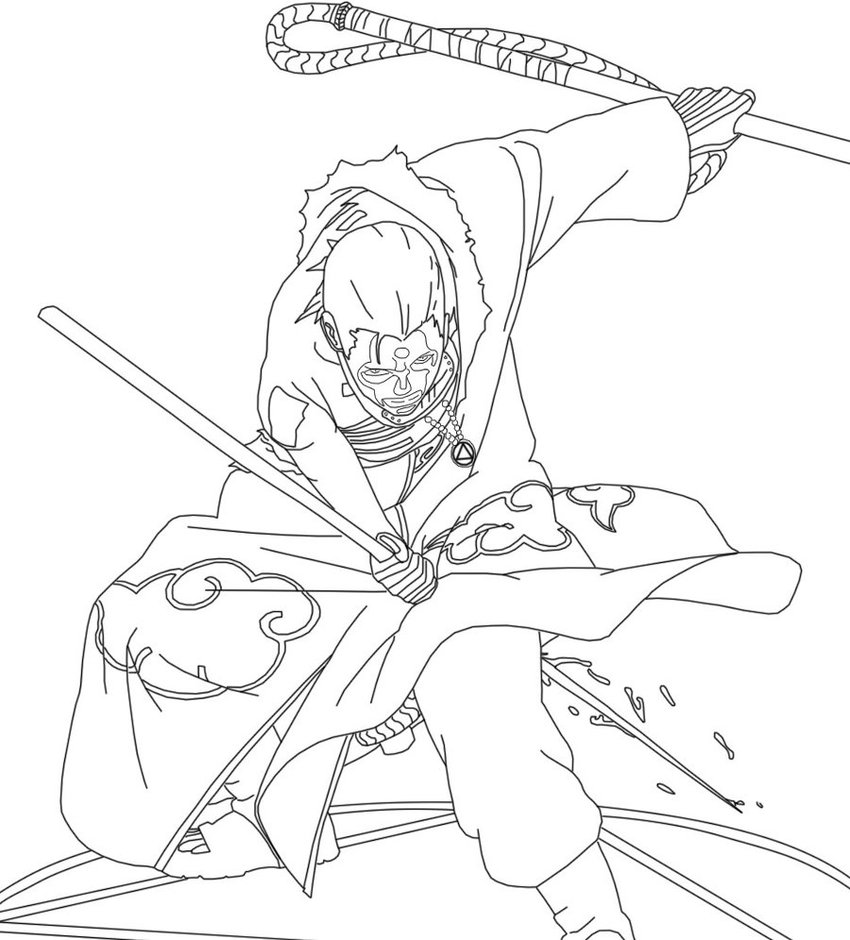 naruto chapter 673 coloring pages - photo#49
