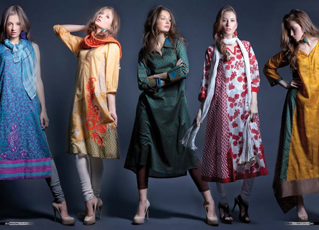 Nishat Linen 2012-2013 Collection | Nishat Summer / Spring Collection