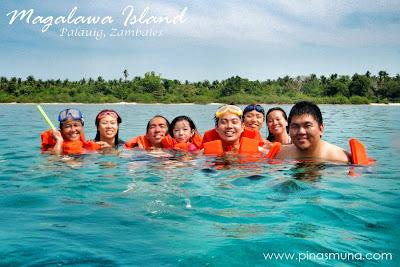 Snorkeling at Magalawa Island in Palauig Zambales