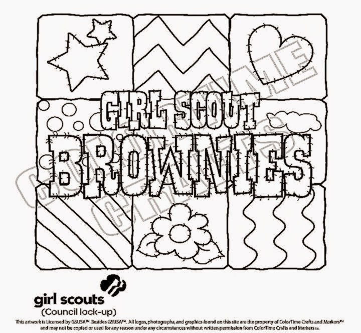 girl scout coloring pages - photo#31