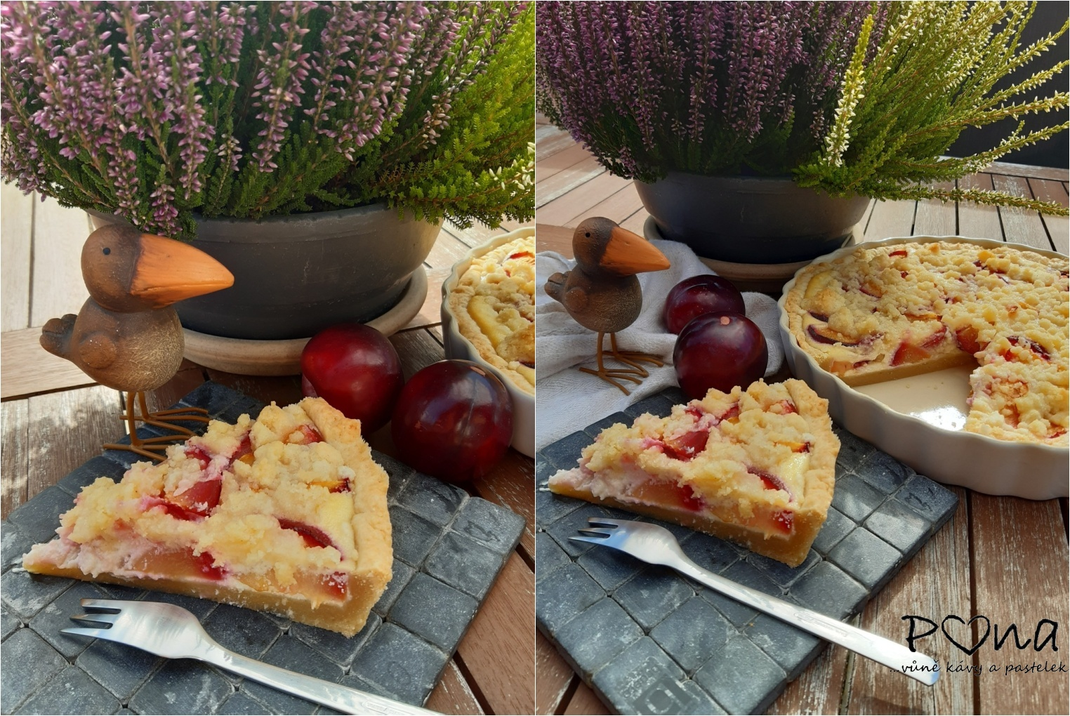 Blumovo-ricottový koláč