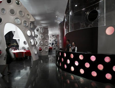 Honeycomb restaurant, Shenzhen, China