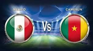 México 1 - 0 Camerún. Grupo A. Jornada 1.