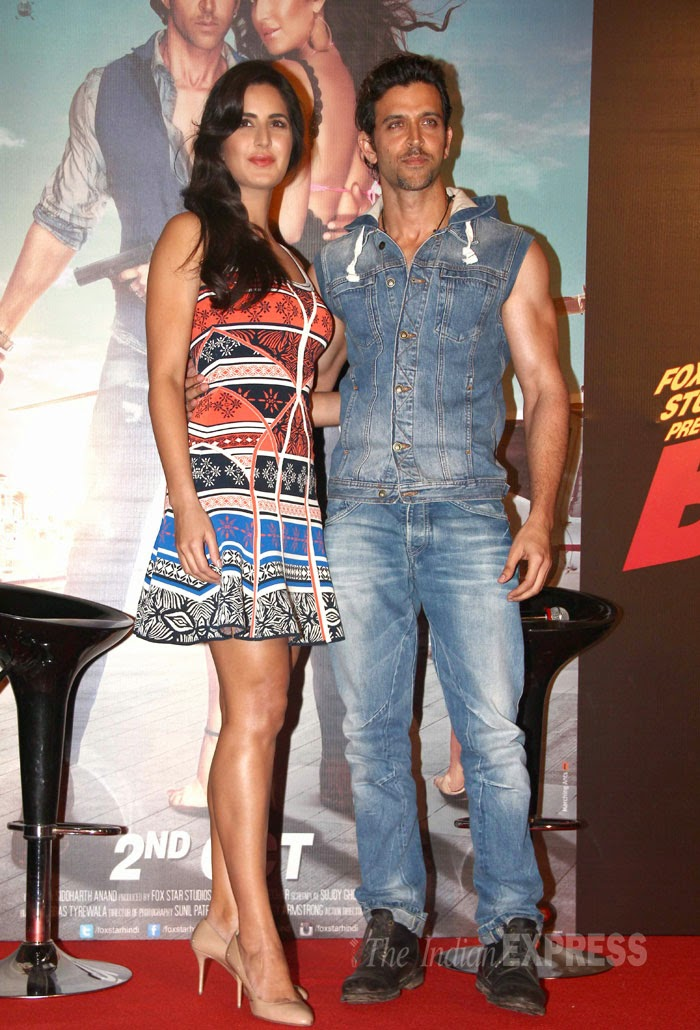 Katrina Kaif and Hrithik Roshan Pictures