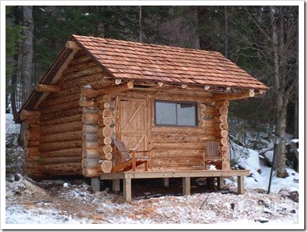 Log shed plans free