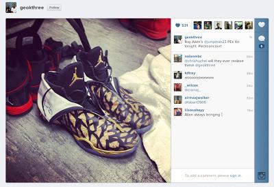 Ray Allen s Air Jordan XX8 PE for Game 3  PHOTORay Allen Shoes 2013 Finals
