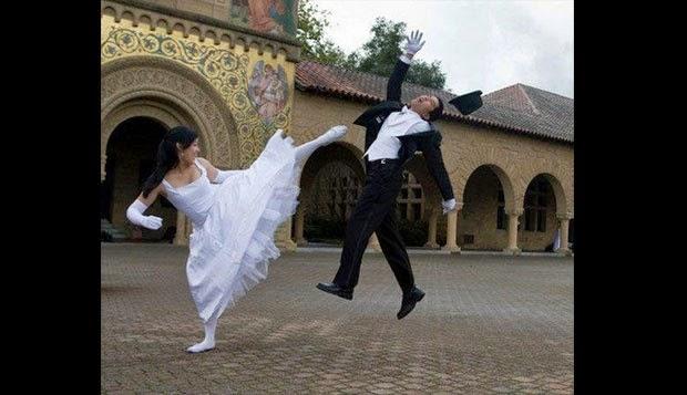 foto prewedding unik dan lucu