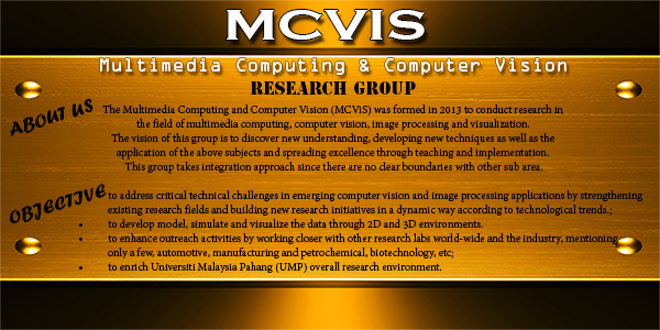 MULTIMEDIA COMPUTING & COMPUTER VISION