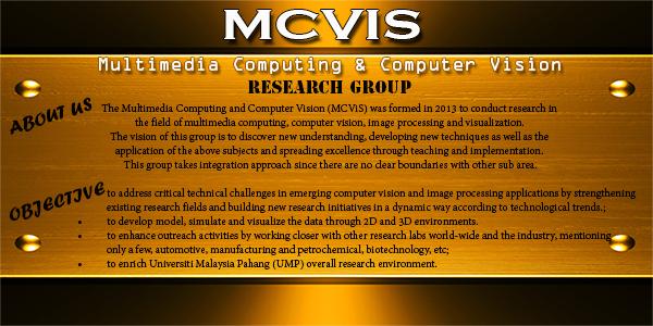 MULTIMEDIA COMPUTING & COMPUTER VISION