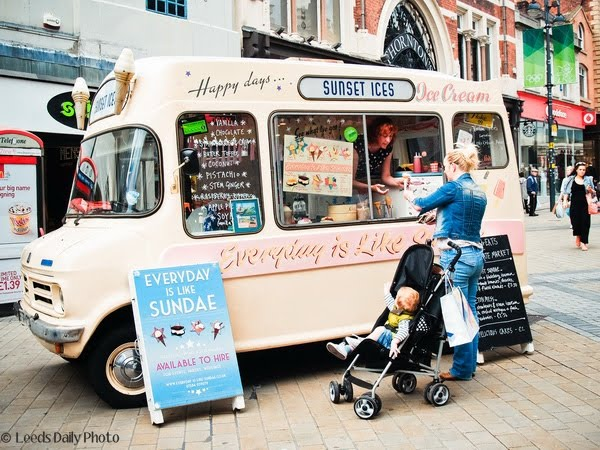 Ice Cream Van Leeds