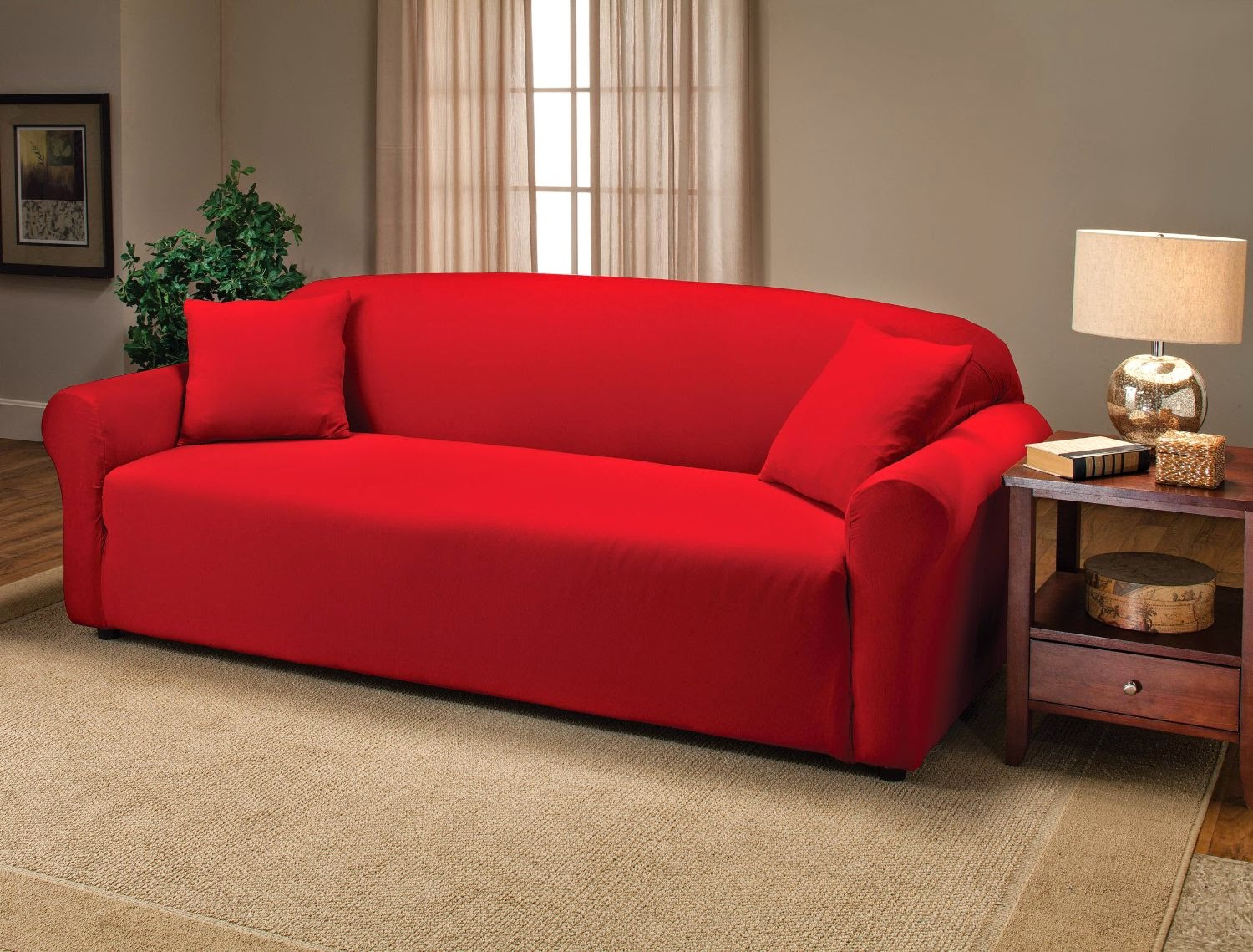 Leather sofa slipcover 14 best sectional slipcovers images for Couch covers for leather couches