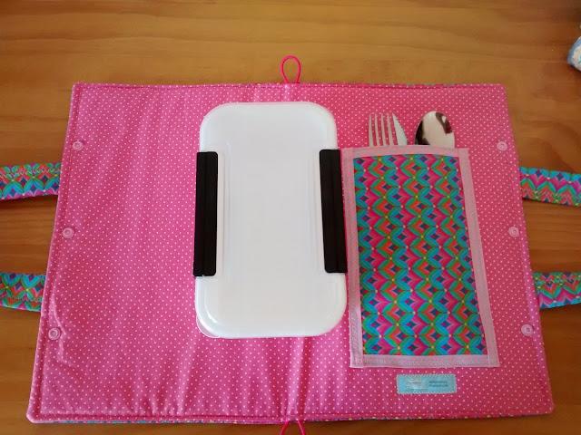 Porta Marmita em tecido, ideal para levar ao trabalho | @ateliemadrica