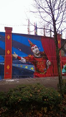 Graffiti, Streetart, Urbanart, Zirkus Roncalli
