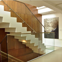 Diseño de escalera de concreto en zig zag