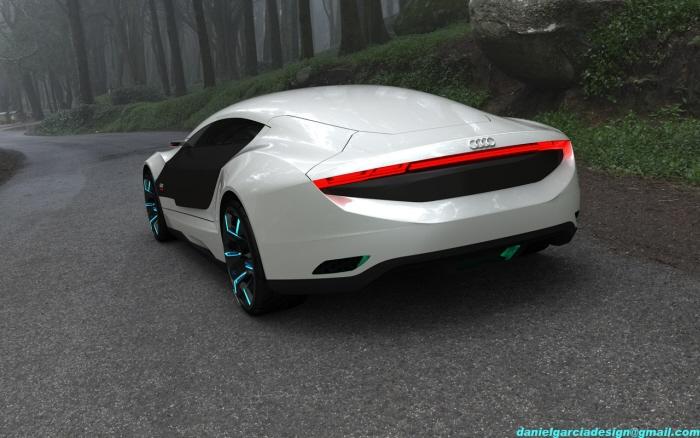 Sports Cars Audi A9 Concept