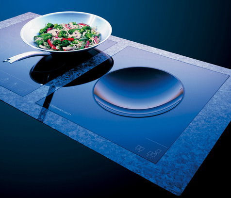 Cooktops gas electric induction hobs or a combination - Plaque induction design ...