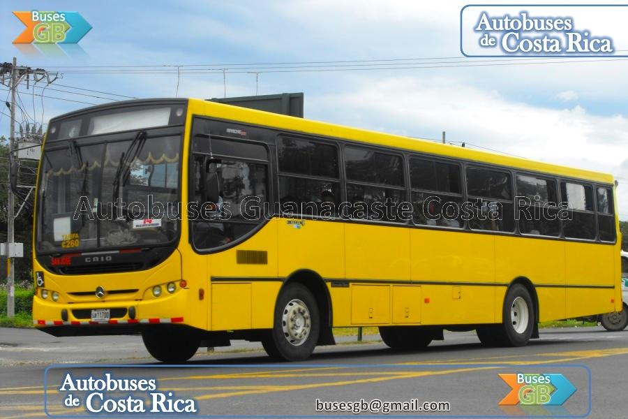 Autobuses de costa rica autobuses de costa rica mercedes for Mercedes benz san jose