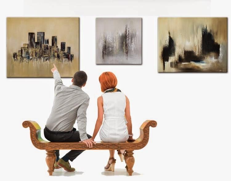 Wandbilder Acrylbilder Leinwandbilder handgemalt: Handgemalte Bilder ...