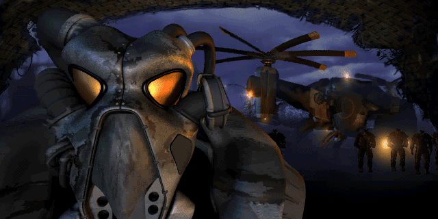 Fallout 2 intro Enclave