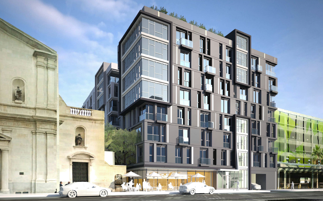 Building Los Angeles New Look For The Vibiana Lofts