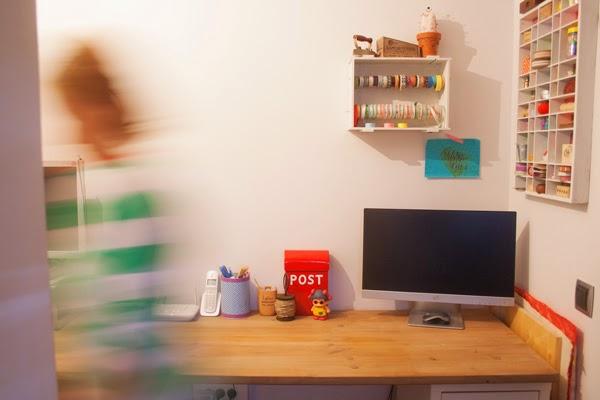 Mesa de despacho o c�mo envejecer madera