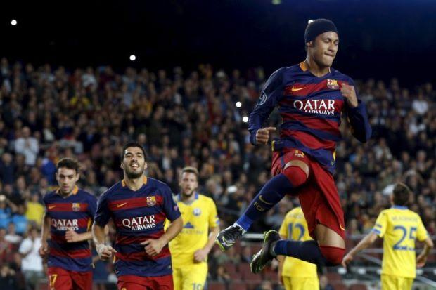 Hasil laga Barcelona 3-0 BATE