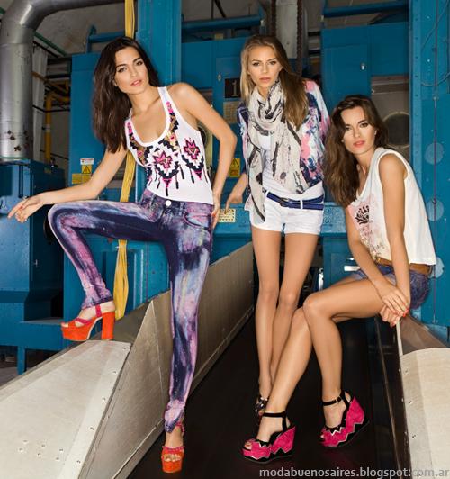 Ossira moda verano 2014.