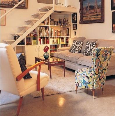 Hogar dulce hogar trucos para aprovechar el espacio for Como aprovechar el hueco debajo de la escalera