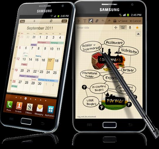 Galaxy Note 1, Xách tay chính hãng Hàn Quốc