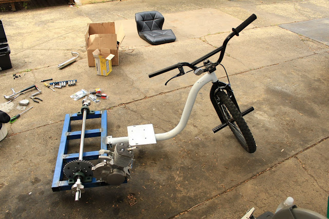 Дрифт велосипед своими руками с двигателем