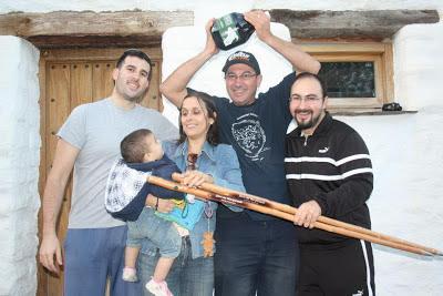 Ganadores del torneo de petanca La Lomilla en Jérez del Marquesado
