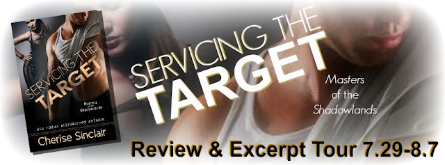 http://www.inkslingerpr.com/2015/07/29/cherise-snclairs-servicing-the-target-review-excerpt-tour/