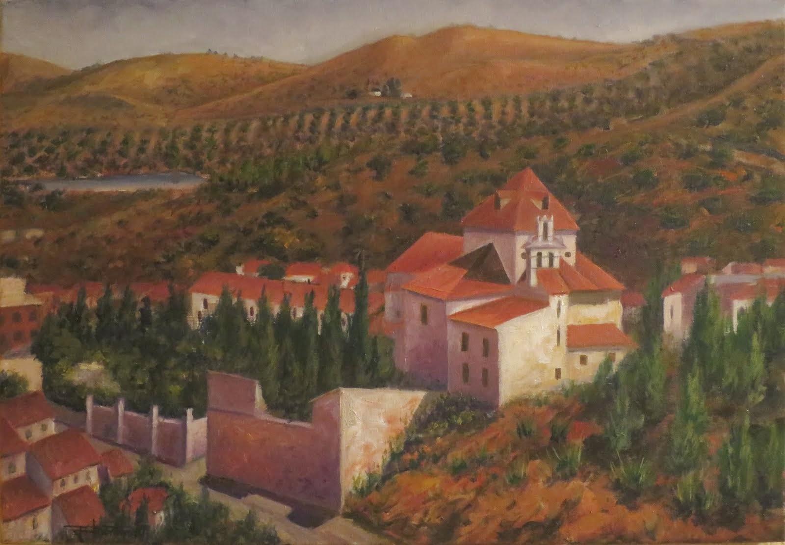 La iglesia de Macharaviaya, Málaga. (10P)