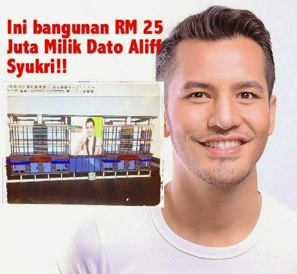 2 Gambar Wisma Dato Aliff Syukri Berharga RM25 Juta Yang Pasti Buat Anda Tercengang Apabila Melihatnya