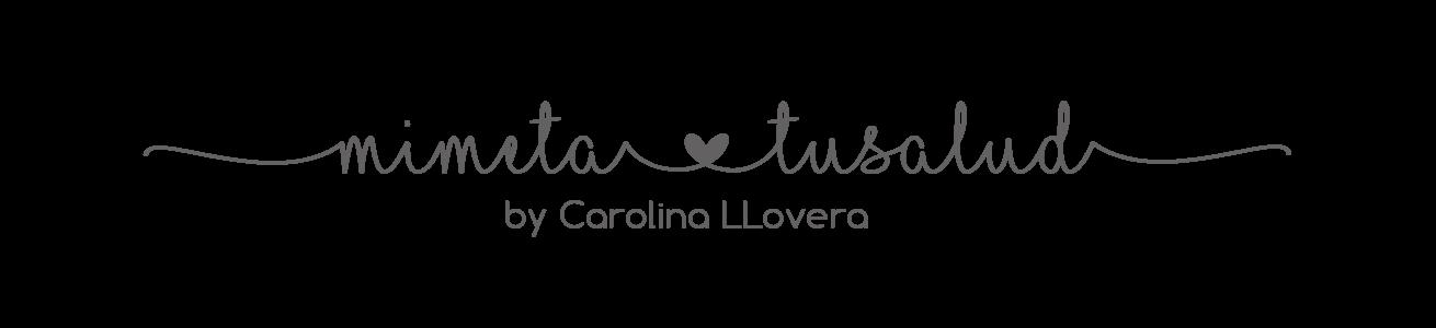 """Mi meta, tu salud"" por Carolina Llovera"