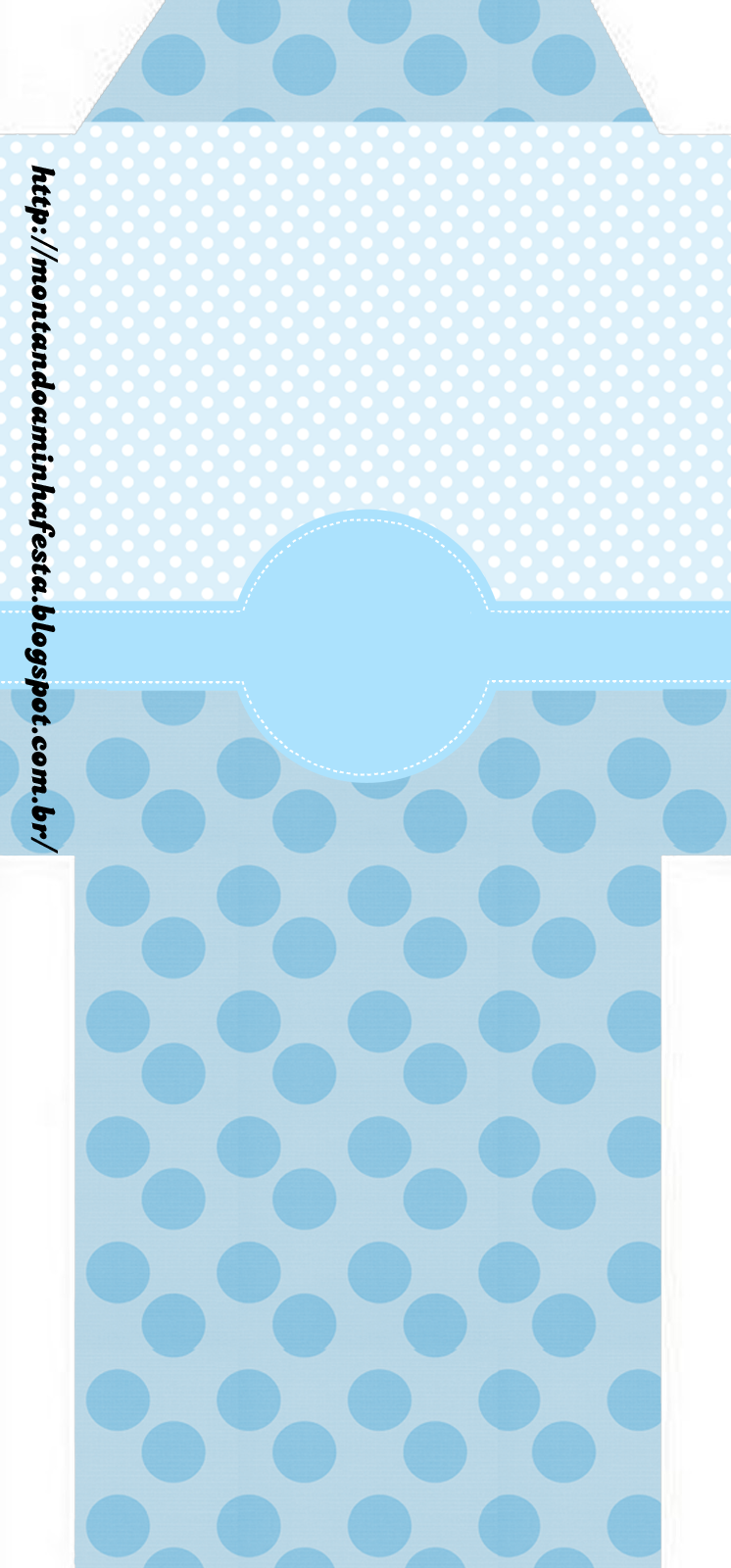 light blue and polka dots first communion free party printables