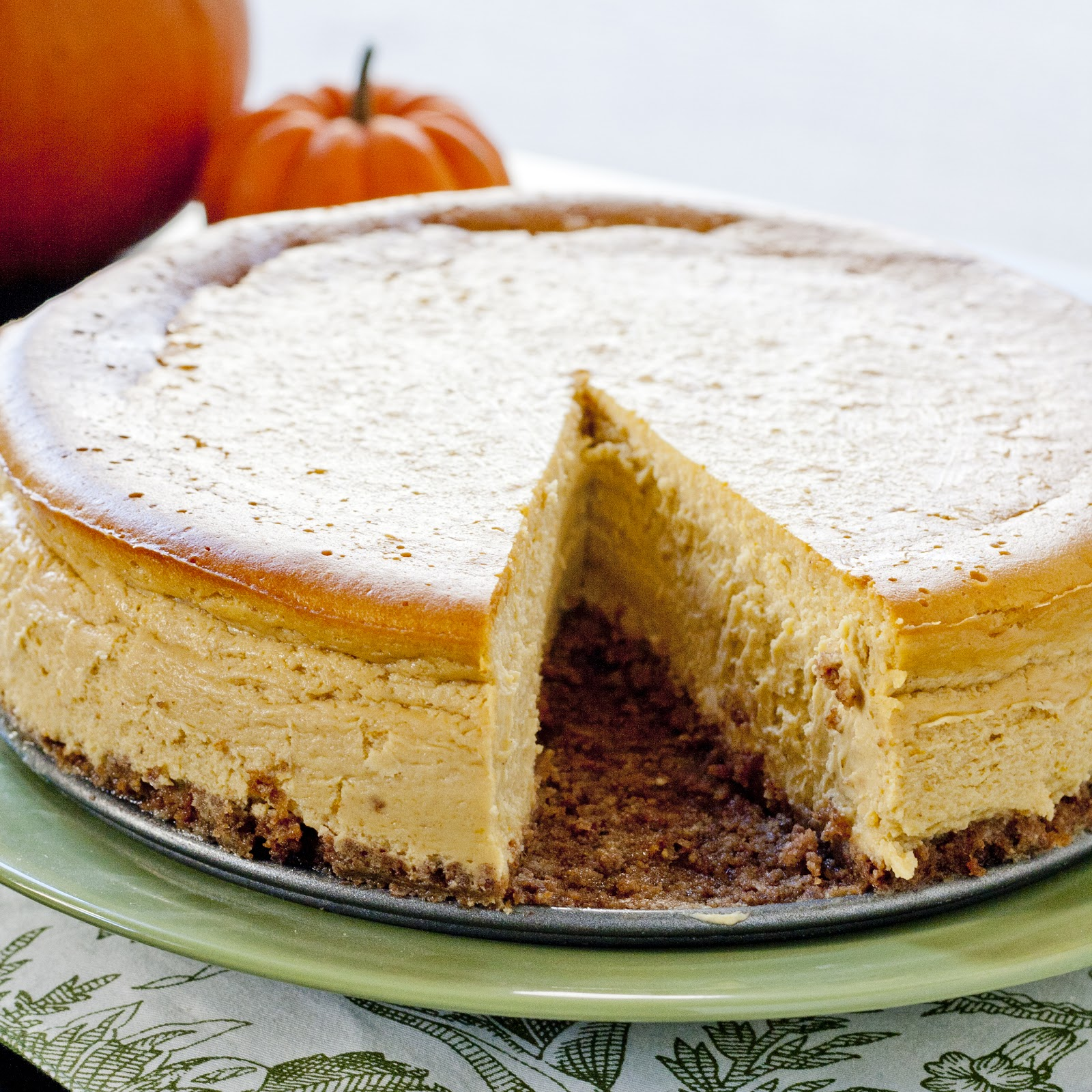 IMPROV kitchen: pumpkin bourbon cheesecake