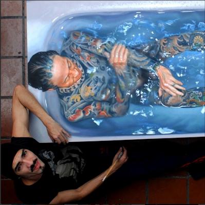 Gustavo Seniman Yang Membuat Lukisan Tampak Nyata 12