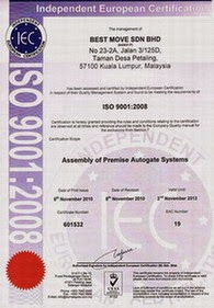 Quality system | ISO 9001 : 2008