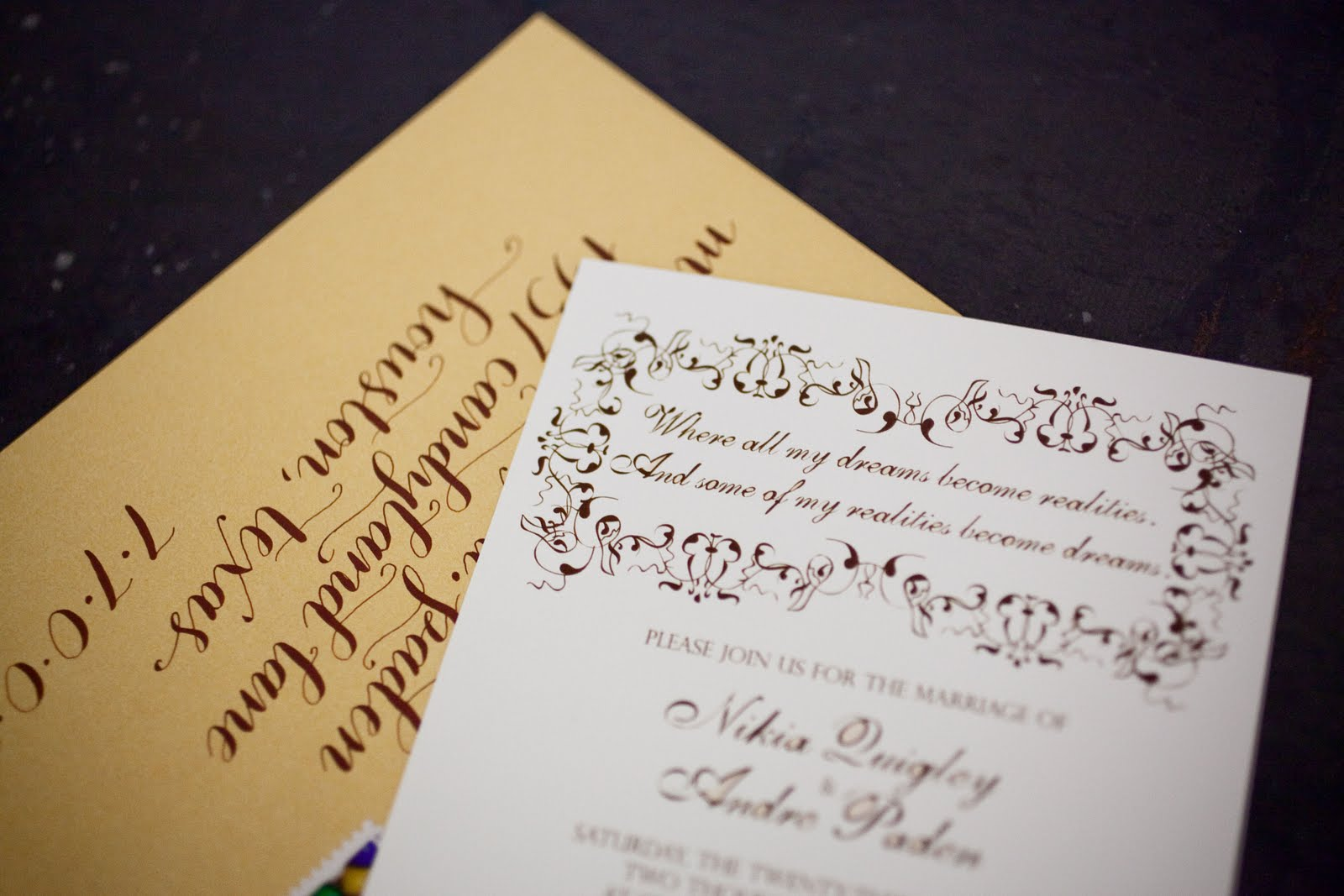willy wonka wedding invitations