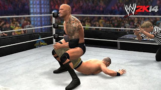 wwe 2k14 pc gameplay