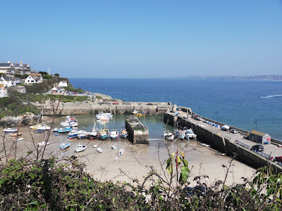 Newquay quay Cornwall