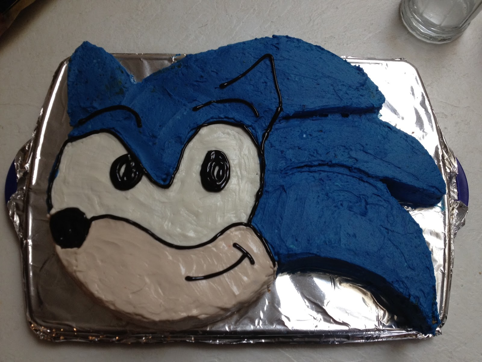 Dragonfliesdawn Sonic The Hedgehog Cake Tutorial