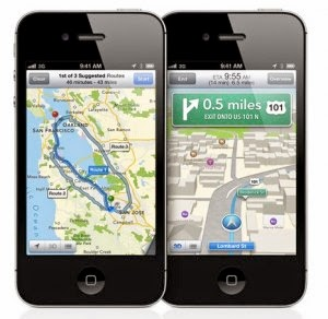 aplikasi maps apple
