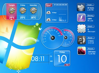 Download 70 Gadget Keren Untuk Windows 7